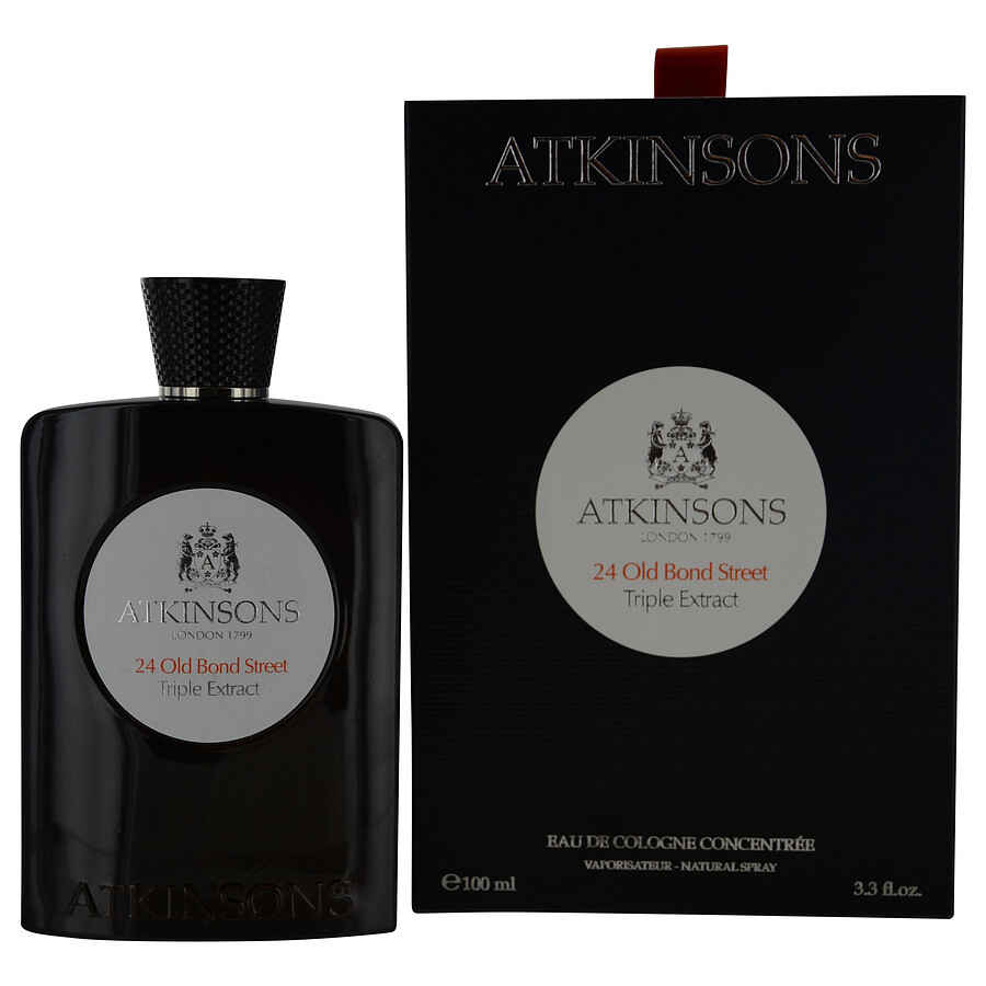 Atkinsons 24 Old Bond Street Triple Extract Eau De Cologne Concentrate Spray 3.3 oz