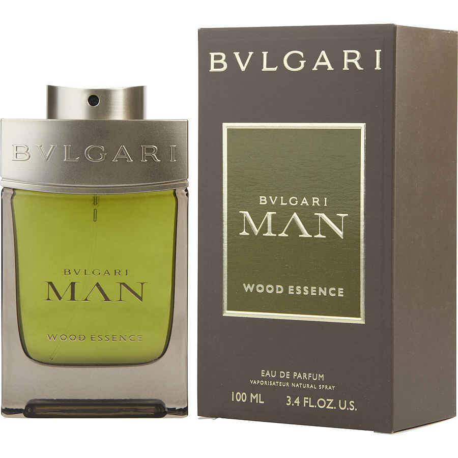 Bvlgari Man Wood Essence Eau De Parfum Spray 3.4 oz