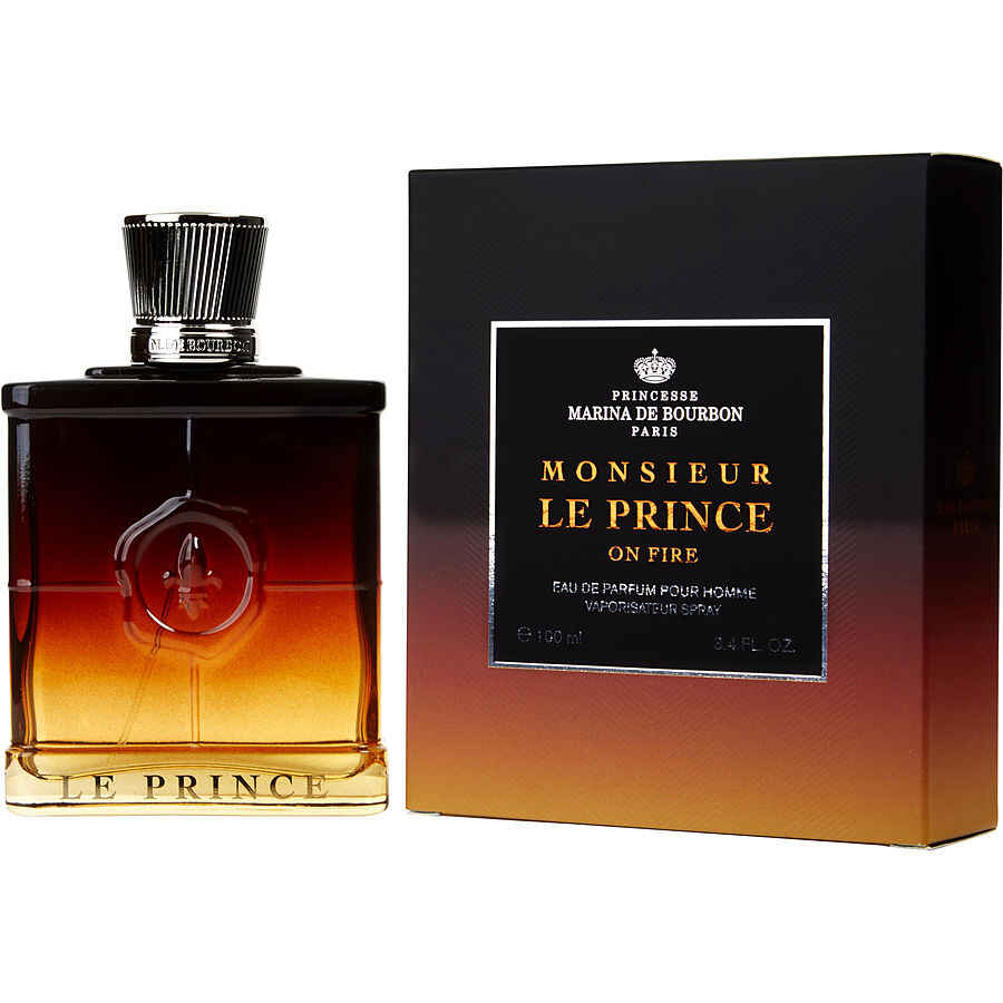 Marina De Bourbon Monsieur Le Prince On Fire Eau De Parfum Spray 3.4 oz