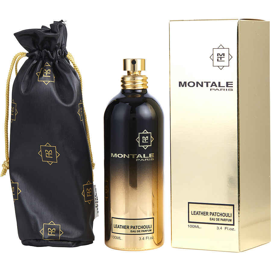 Montale Paris Leather Patchouli Eau De Parfum Spray 3.4 oz
