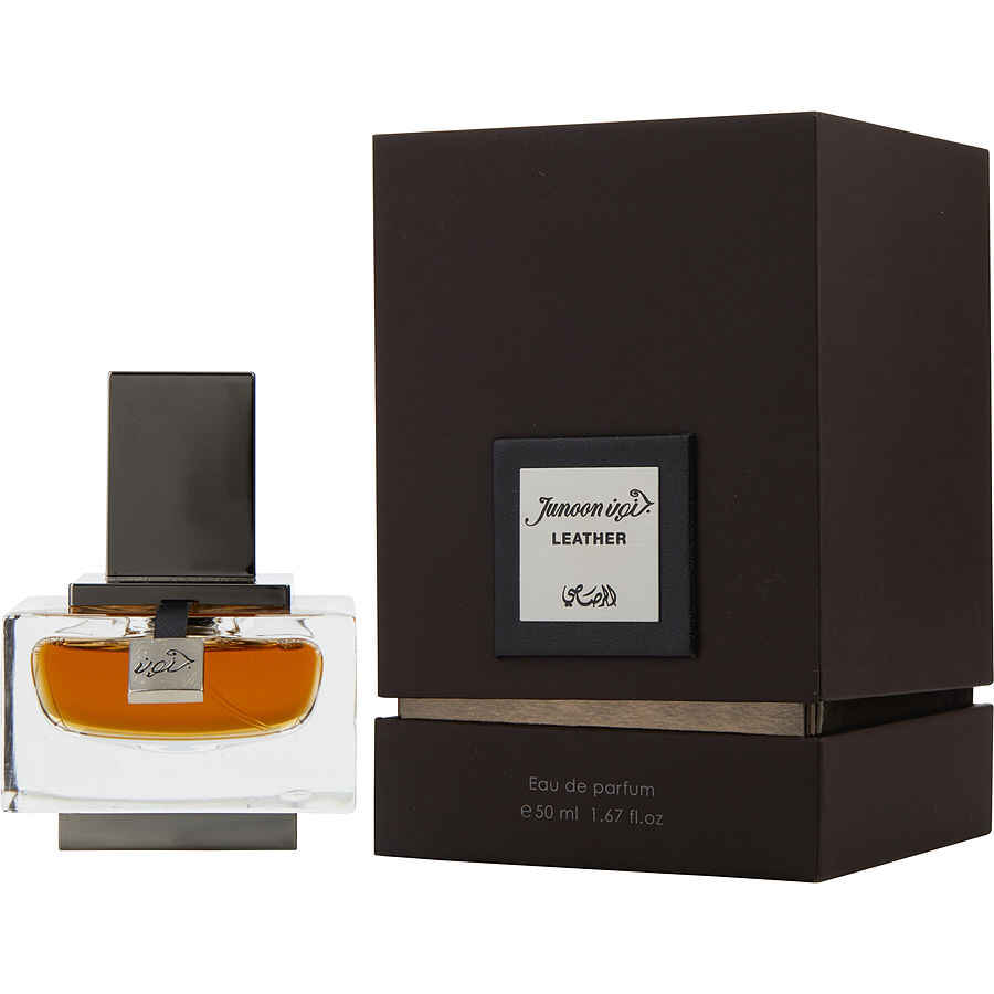 Rasasi Junoon Leather Pour Homme Eau De Parfum Spray 1.7 oz