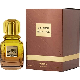 Ajmal Amber Santal Eau De Parfum Spray 3.4 oz