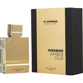 Al Haramain Amber Oud Eau De Parfum Spray (Gold Edition) 4 oz