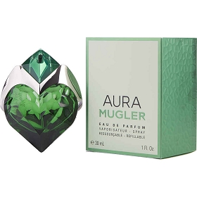 Aura Mugler Eau De Parfum Refillable Spray 1 oz