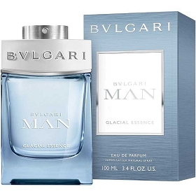 Bvlgari Man Glacial Essence Eau De Parfum Spray 3.4 oz
