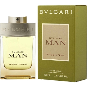 Bvlgari Man Wood Neroli Eau De Parfum Spray 3.4 oz