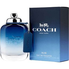 Coach Blue Eau De Toilette Spray 3.3 oz