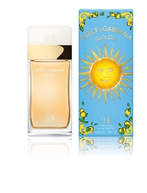 D & G Light Blue Sun Pour Femme / Eau De Toilette Spray 3.3 oz
