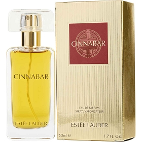 Cinnabar Eau De Parfum Spray (New Gold Packaging) 1.7 oz