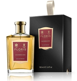 Floris Leather Oud Eau De Parfum Spray 3.4 oz