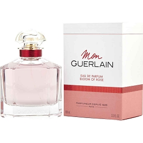 Mon Guerlain Bloom Of Rose Eau De Parfum Spray 3.4 oz