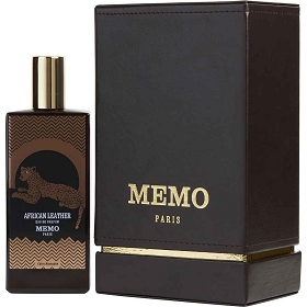 Memo Paris African Leather Eau De Parfum Spray 2.5 oz
