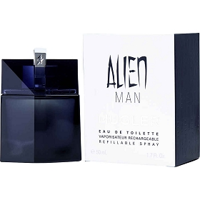 Alien Man Eau De Toilette Refillable Spray 1.7 oz