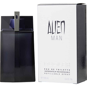 Alien Man Eau De Toilette Refillable Spray 3.4 oz
