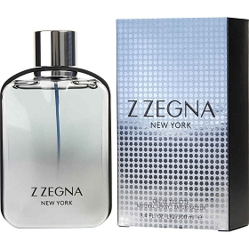 Z Zegna New York Eau De Toilette Spray 3.4 oz